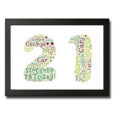 Word Art 21 Rectangle