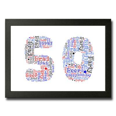 Word Art 50 Rectangle