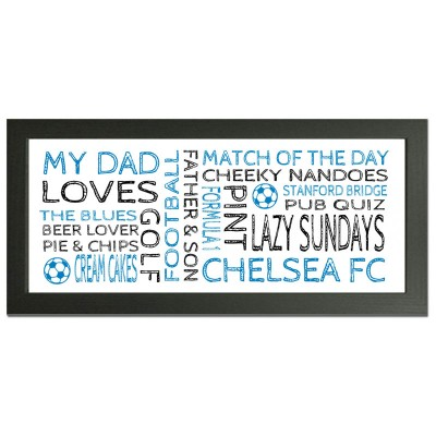 personalised Chelsea gift wordart