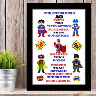 Superhero Typography