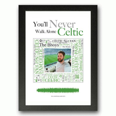 Personalised Celtic Gift Word Art Print