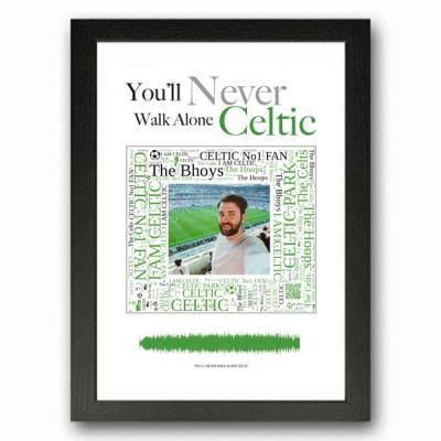 Personalised Celtic Gift Word Art Print
